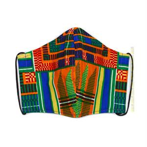 M01/アフリカ布のマスク