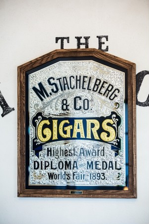 M.Stachelberg & Co.- Glass Sign