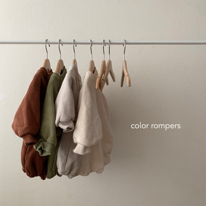 659. color rompers