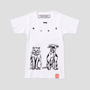 ☆SALE☆手刷りTシャツ(うっとり)