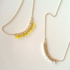 Necklace / ドロップビーズのネックレス