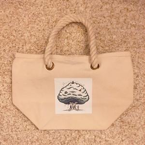 キャンバスロープハンドルバッグ