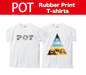 POT Rubber Print Tシャツ