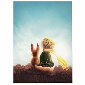 the little prince fabric poster 3size / 星の王子さま ファブリックポスター