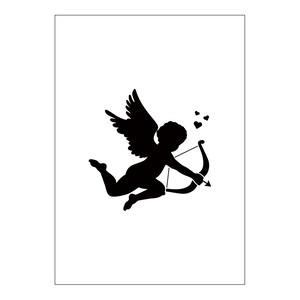 ステンシルシート 天使