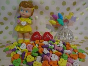 20個 Candyhesrts ソフトビーズ