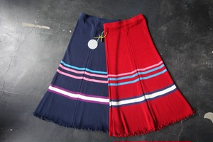 Rib Skirt  ACASAM  navy