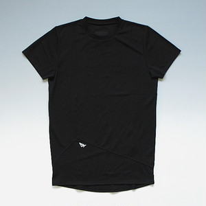 【メール便対応】ROCNATION COMPETITION TEE ロックネイション メッシュ素材ロングレングスTシャツ ブラック