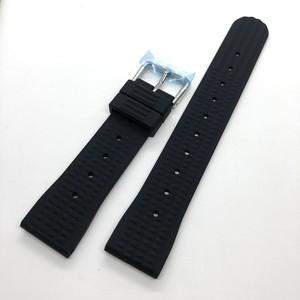 ヴィンテージ ワッフル(地獄の黙示録:マーティン・シーン着) 復刻ラバーベルト ブラック 20mm 腕時計ベルト