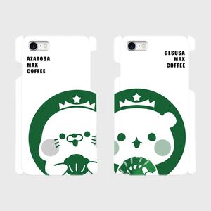 iphoneケース/coffee柄