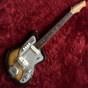 c.1965-1969 ZEN-ON ZES-170 ビザールギター 6か月保証