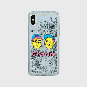 Charlie Glitter iPhone Case (FACE)
