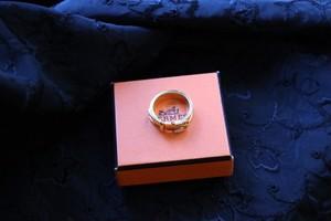 Hermes vintage scarf ring
