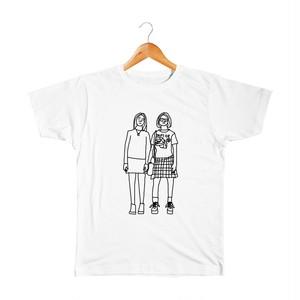 Enid & Rebecca #4 キッズTシャツ