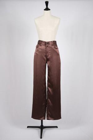 【SAYAKADAVIS】straight pants-chocolate