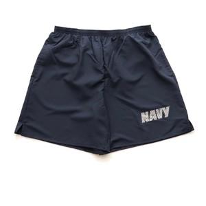 米軍 U.S.NAVY NB(ニューバランス)社製 フィジカル トレーニングショーツ MADE IN USA ショートパンツ