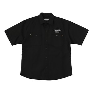EXAMPLE DUCK 5POCKET S/S SHIRTS / BLACK