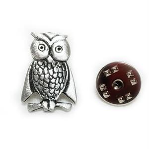 ピューター製ピンズ【OWL_B】David Hinwood 90166-LP1435