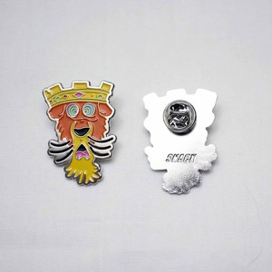 SNACK SKATEBOARDS / HYPNOTIZE LAPEL / pins / 35×25mm