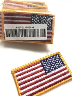 アメリカ 国旗 パッチ (ベルクロ無し)