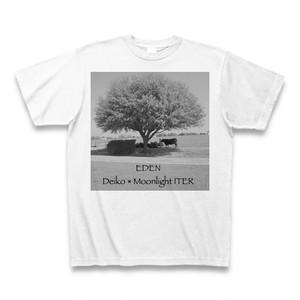 【ジャケT】Deiko「EDEN」CDジャケットTシャツ(monochrome)