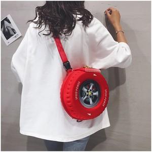 【バッグ】タイヤ型個性的ファッションキュートバッグ42470470