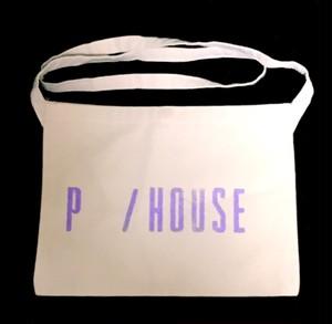 P/ HOUSE Sacoche white×purple