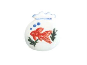 <夏>金魚鉢(水草)