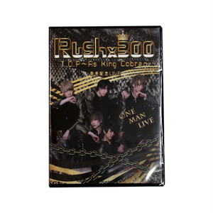 【Rush×300】T.O.P~As King Cobra~発売記念LIVE☆DVD<予約販売>