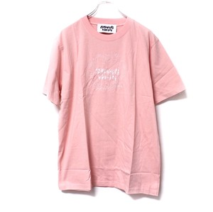 【Somewhere Nowhere】'HEDORO' EMBROIDERY T-SHIRT pink