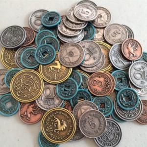 (予約商品・7〜8月入荷予定)Scythe:大鎌戦役メタルコイン