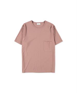 LEMAIRE CREPE T-SHIRT Smoked Pink M 201 JE166 LJ054310
