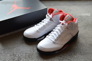 "NIKE Air Jordan 5 Retro OG ""Fire Red"""