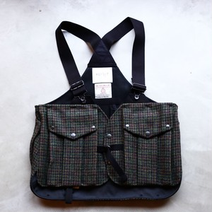 norbit  / TWEED LAYER VEST(GREEN CHECK)