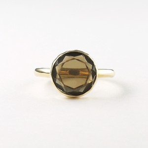 Marbles smoky quartz ring