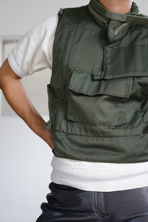 French Vintage - Multifunctional Pocket Vest 1990's