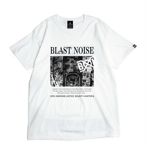 "VIRGOwearworks / ヴァルゴウエアワークス | BOUNTY HUNTER × VIRGOwearworks "" NOISE TEE "" - white"