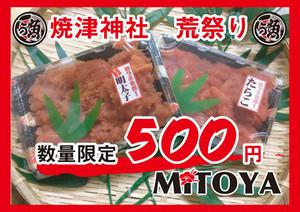 【焼津荒祭り】特別価格!