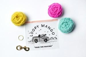 Loopy Mango PomPom Keychain DIY Kit