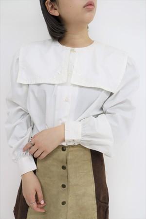 big collar design blouse / BL11030004