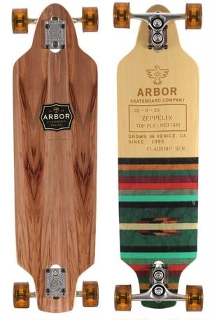 【Arbor Skateboard】Zeppelin Flagship Series ロンスケコンプリート