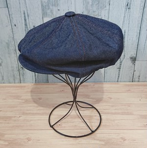 NEWYORKHAT(ニューヨークハット) STITCHED DENIM NEWSBOYHAT #6103 Ranks