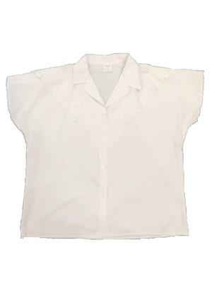 Euro Vintage White shirt 半袖 BL15