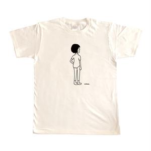 レオタードTシャツホワイト