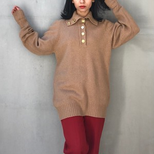 CHANEL camel hair vintage sweater