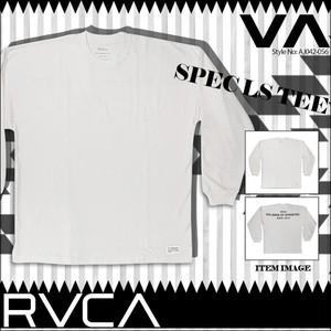 AJ042-056 ルーカ メンズ Tシャツ ロンT 長袖 カジュアル 人気ブランド おしゃれ ロゴ SPEC LS TEE ロングスリーブ Tシャツ M 白 RVCA