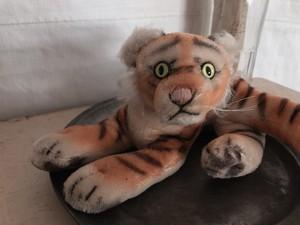 GERMANY Steiff Vintage mohair tiger