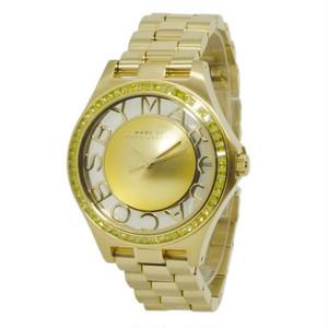 マーク バイ マークジェイコブス クオーツ レディース 腕時計 MBM3338 ゴールド