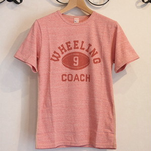 Workers(ワーカーズ) Wheelingプリント Tシャツ レッド