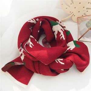 【小物】クリスマス雰囲気全9色多色マフラー24948719